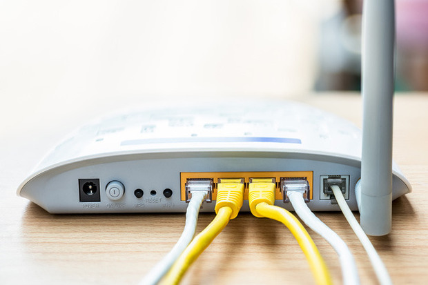hacked router